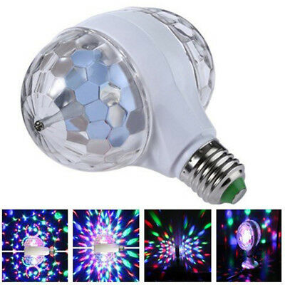 Mini LED Disco Ball Stage Double Head Crystal Magic Light Home Night Party - Led Disco Ball