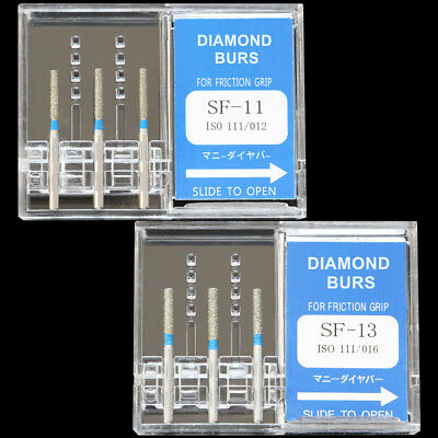 10boxes Sf-11 Mani Dia-burs Dental High Speed Handpiece Diamond Burs Tooth Drill