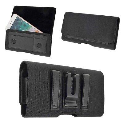 para Asus ZenFone AR Dual Funda Cinturón Clip Metálico Horizontal Tarjetero T...