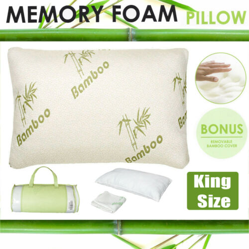 bamboo shredded memory foam pillow with hypoallergenic