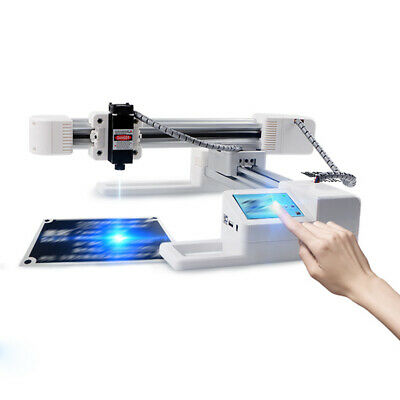 Desktop Laser Engraving Machine Diy Cnc 3000mw Logo Marking Printer Engraver