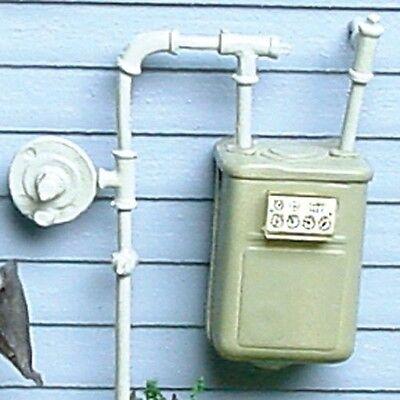 Dollhouse Miniature 1:12 Scale Gas Meter #DDL602