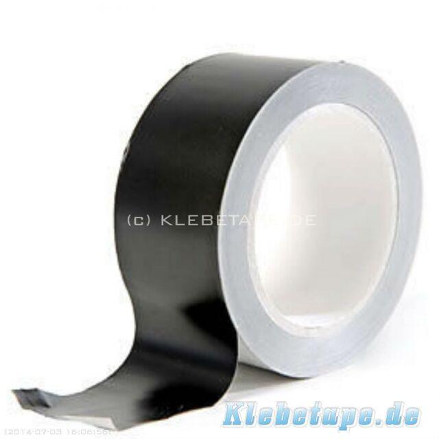 Matt Black Foil Aluminium Tape 50mm x 25m Heat Resistant to 200° Matt finish