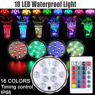 Disco Ball Night Light (4 Pack Underwater Show LED Disco Ball Light Bath Hot Tub SPA Jacuzzi Party)
