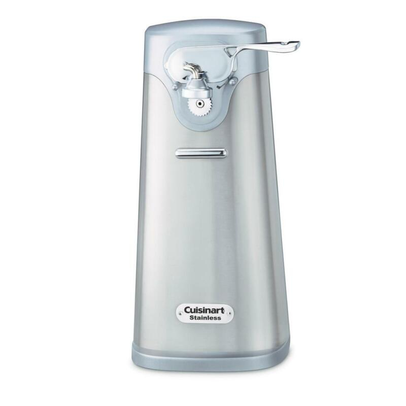 deluxe electric can opener durable extra tall