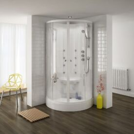 Quadrant Hydro Massage Shower