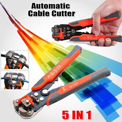 Self-adjusting Wire Striper Cutter Stripper Crimper Pliers 4 To 22 Awg 8 Tool