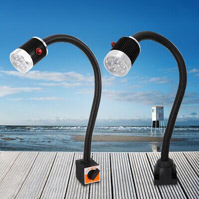 Top 5w 500mm Working Light Gooseneck Cnc Machine Led Lamp Magneticfixed