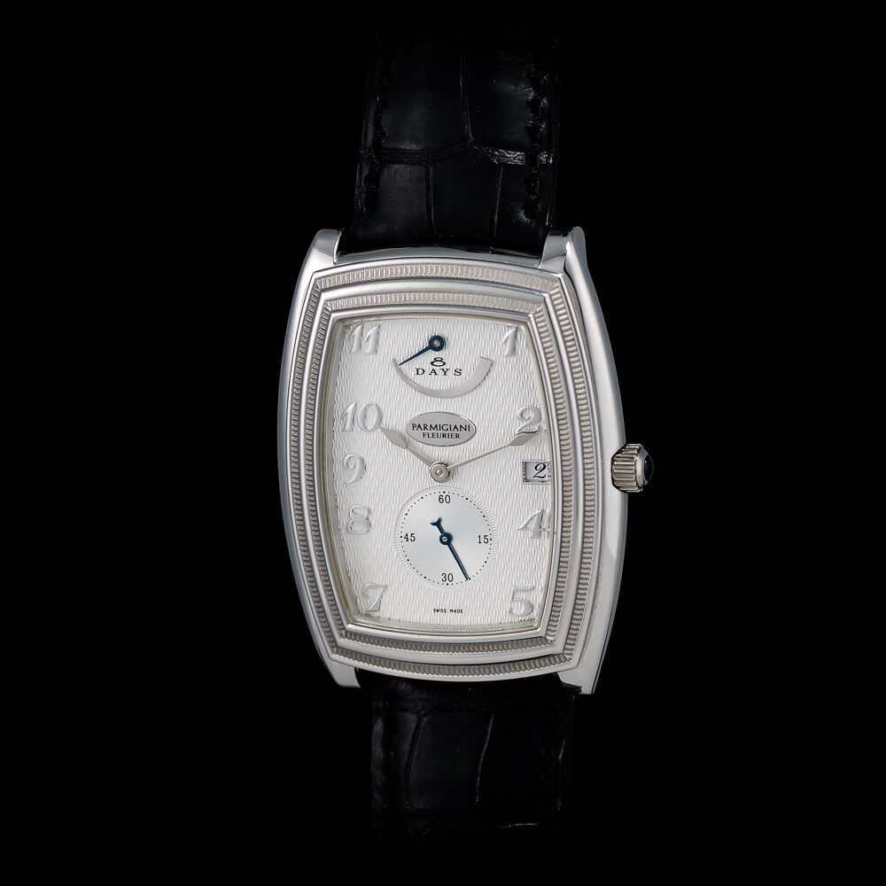 """Parmigiani 950 Solid Platinum """"Ionica"""" 8 Days Power Reserve. In-house movement. - watch picture 1"""