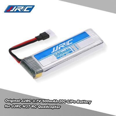 Original JJRC 3.7V 500mAh 20C LiPo Battery fr JJRC H37 RC Selfie Wifi Drone Y9J7