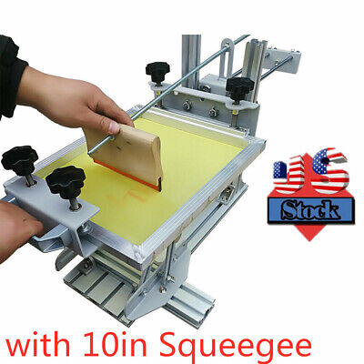 Us Manual Cylinder Silk Screen Printing Machine For Pen Cup Mug Bottle