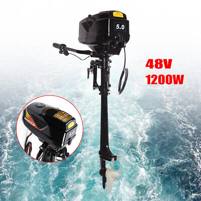 New Arrival 5HP Electric Outboard Motor Heavy Duty JET PUMP Boat Engine 1200W New Electric Jet Pump Motor
