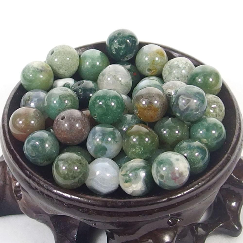 Bulk Gemstones I natural spacer stone beads 4mm 6mm 8mm 10mm 12mm jewelry design Indian agate