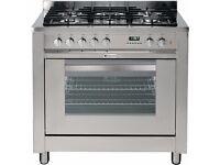 Hotpoint EG900X S Stainless Steel Cooker