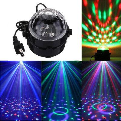 DJ Lighting LED Crystal Magic Ball Projector Stage Show Light Club Disco KTV BK