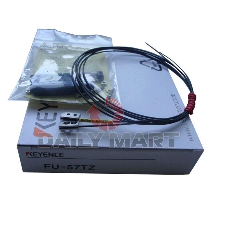 Brand New In Box KEYENCE FU-57TZ Transmissive Thrubeam Fiber Optic Sensor Unit