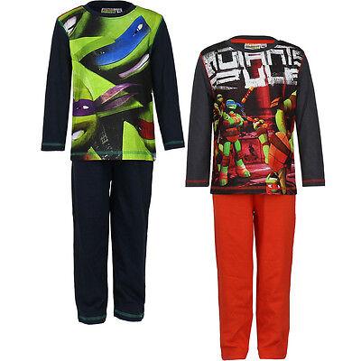 Pyjama Set Schlafanzug Jungen Mädchen Ninja Turtles grün - Ninja Turtles Schlafanzug
