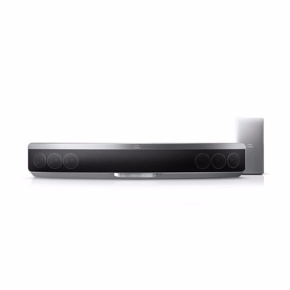 Powerful Philips SoundBar Home Theater with Full HD 3D Blue-ray and Subwoofer, Used