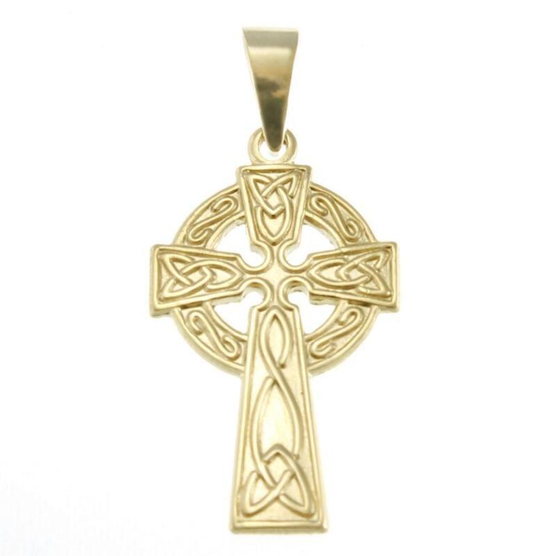 9ct gold pendant ebay 9ct gold cross pendant necklaces mozeypictures Choice Image