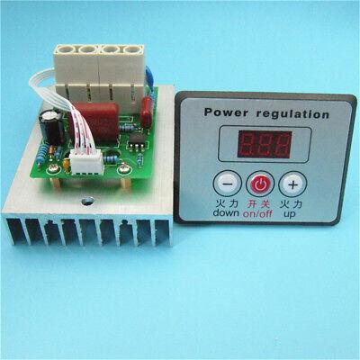 Digital Ac 220v 10000w Voltage Regulator Speed Controller Scr Dimmer Thermostat
