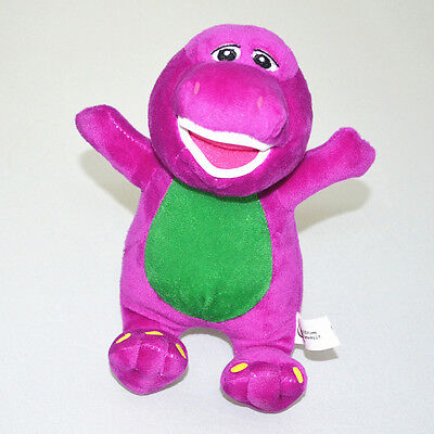 """7"""" Cute Barney Sing I LOVE YOU Song Soft Plush Doll Kids Baby Boy Girl Toy Gift"""
