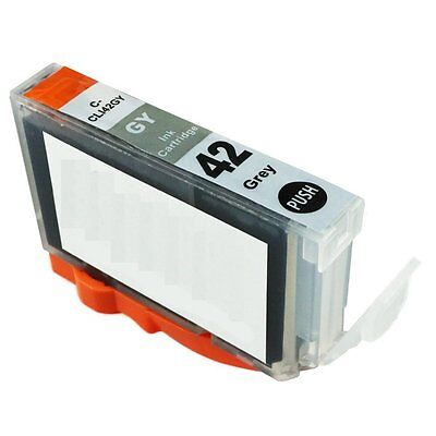 2-PACK CLI-42 Grey Ink Cartridge Tank for Canon PIXMA PRO-100 Printers