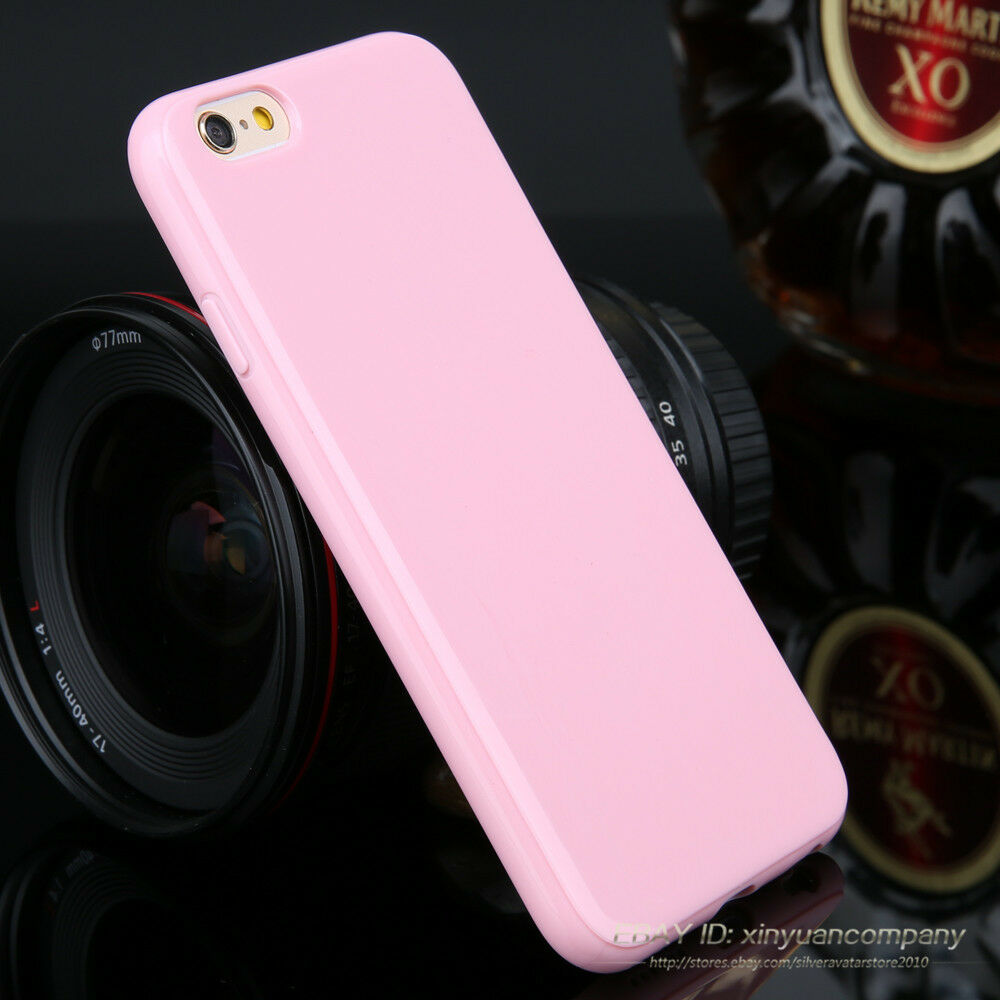 Slim Candy TPU Silicone Rubber Soft Back Case Cover For iPhone 5c SE 8 6 7 XS XR