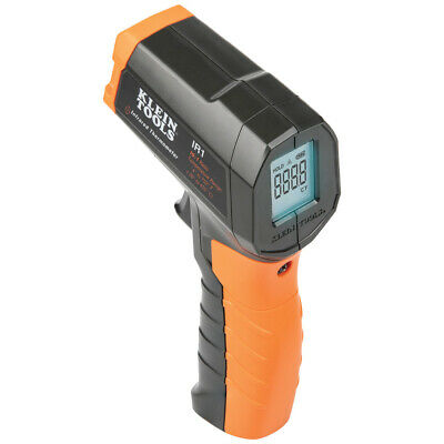 Klein Tools Ir1 Infrared Digital Thermometer With Targeting Laser