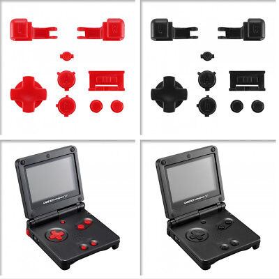 Customized Dpad Buttons Set Replacement Parts for Nintendo Game Boy Advance SP