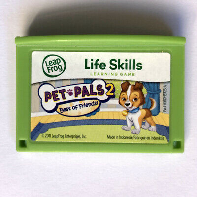 Pet Pals 2 Social Learning Educational Game Cartridge LeapFrog Leapster LeapPad