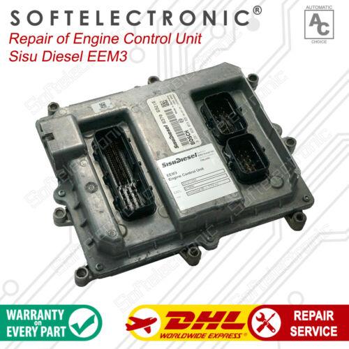 Engine Control Unit Sisu Diesel ЕЕМ3  Repair Service