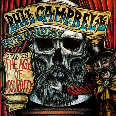 "PHIL CAMPBELL AND THE BASTARD SONS ""THE AGE OF ABSURDITY"" LP! VÖ 26.01.2018"