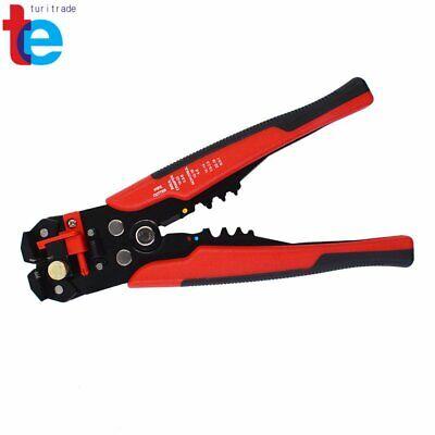 8 Self-adjusting Insulation Wire Strippercuttercrimper Tool New