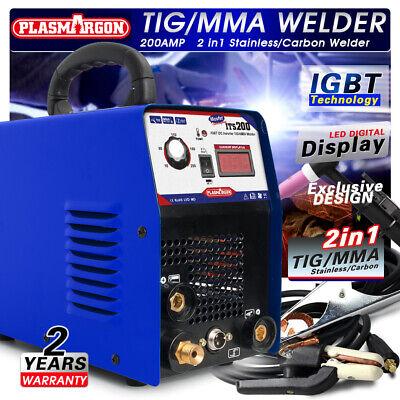 Tigmma Igbt Welding Machine 3.2mm Welding Rod 200a Welder Accessories 110220v