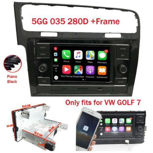 "6.5"" RCD330 Carplay Autoradio für VW GOLF 7+Rahmen MirroLink BT USB RVC MQB"