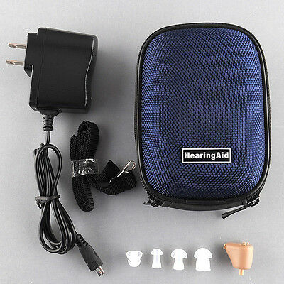 BEST K-88 Rechargeable acousticon In Ear Hearing Aid Audiphone Sound