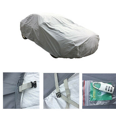 For All Season Complete 100 Waterproof Car Cover Protection Fits 190 W Lock