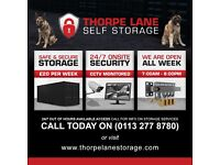 Local Self Storage Leeds - From £20 Per Week - Business & Home Storage