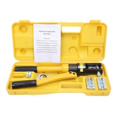 12 Ton Hydraulic Wire Battery Cable Lug Terminal Crimper Crimping Tool 10 -120mm