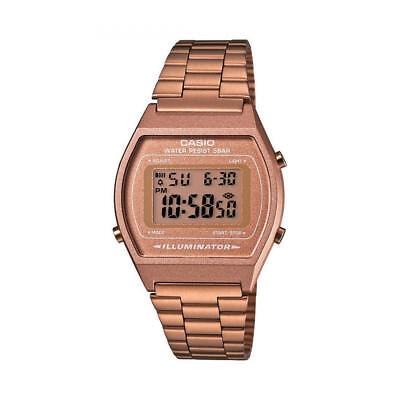 Casio Collection Unisex Retro Digital Armbanduhr für Männer & Frauen goldfarben