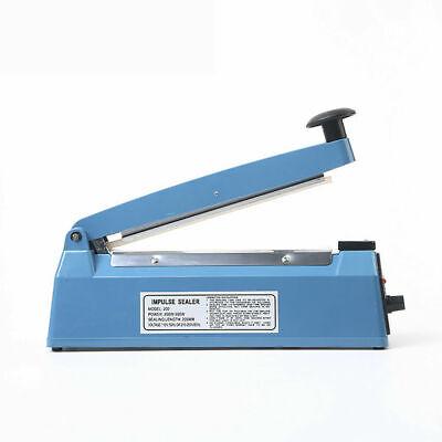 200mm Food Sealing Machine Electric Plastic Poly Pp Bag Hand Impulse Heat Sealer