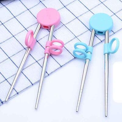 Reusable Baby Child Stainless Steel For Kids Learning Training - Chopsticks For Kids