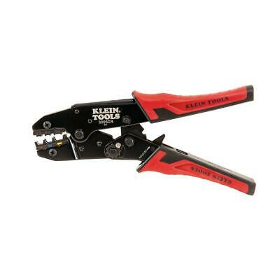 Klein Tools Ratcheting Crimper 10-22 Awg Insulated Wire Terminal Electrical Tool
