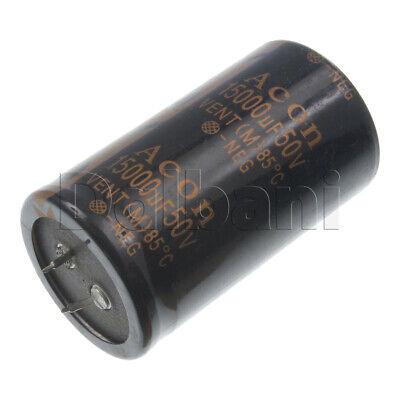 18-01-0182 Snap In Capacitor 50v 15000uf 85c 35x62mm