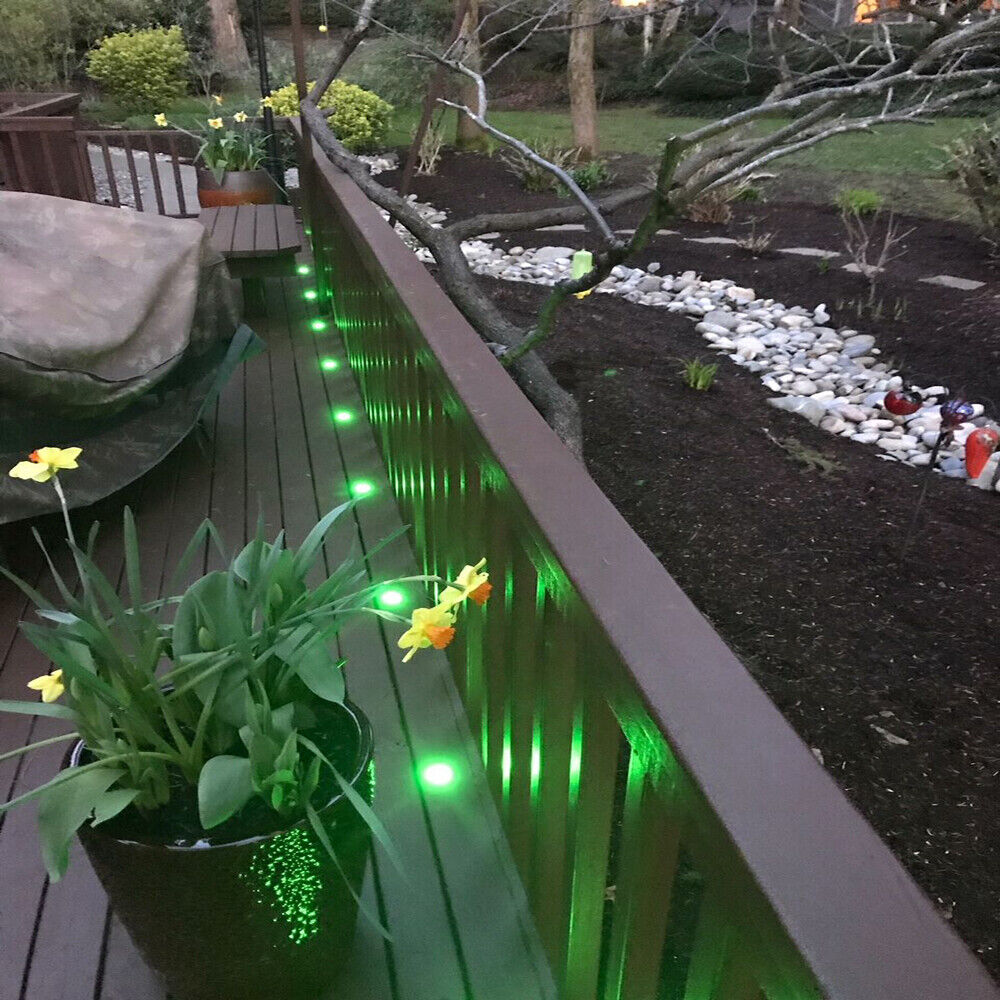 rgbw 2 4 encastrable lampe de sol lumi re pour terrasse patio jardin la cuisine ebay. Black Bedroom Furniture Sets. Home Design Ideas