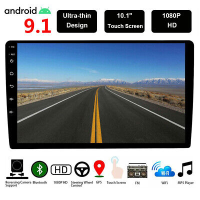 10 Inch Android 9.1 Car GPS Stereo Radio Player BT TPMS Head Unit Wifi 2G+16GB
