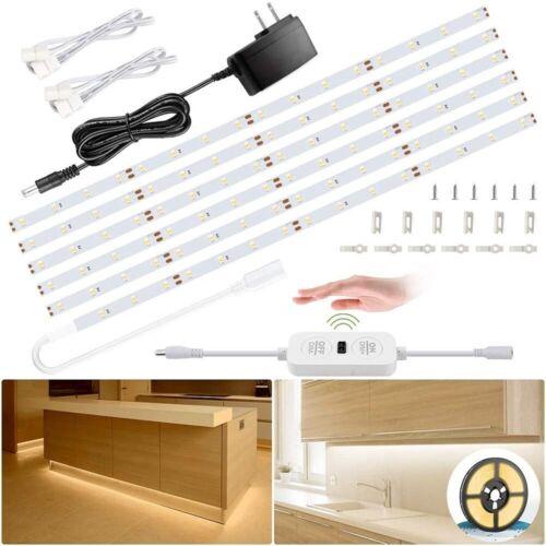 LED Under Cabinet Lighting Kit 1800lm 20ft room Shelf Counte