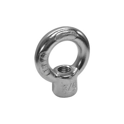 Lifting Ring Eye Nuts 3 pcs Metric DIN 582 A2 Stainless Steel M12-1.75