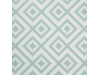New cushioned floor vinyl sheet. Blue/green. Cairo design. 2M by 2.5 M