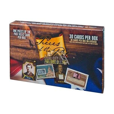 2017 Super Break Pieces of the Past Volume 2 Hobby Box